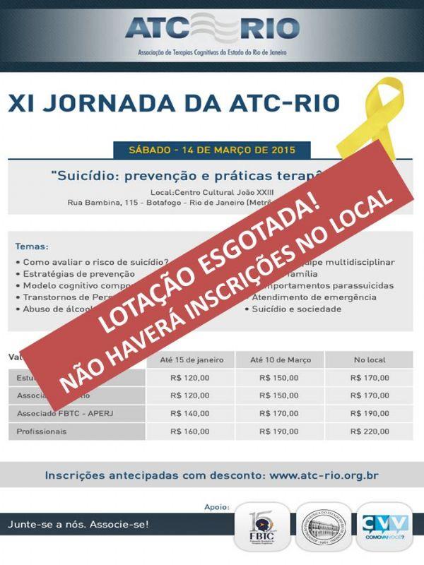 Ref: XI Jornada da ATC-Rio