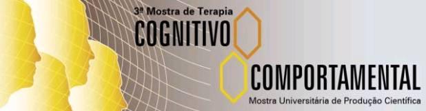 Ref: 3ª Mostra de Terapia Cogntivo-Comportamental