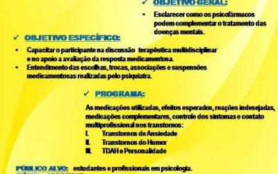NEUROFISIOLOGIA DOS PSICOFÁRMACOS NAS DOENÇAS MENTAIS