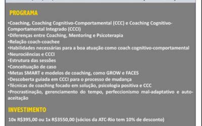 Curso de Formação em Coaching Cognitivo-Comportamental Integrado
