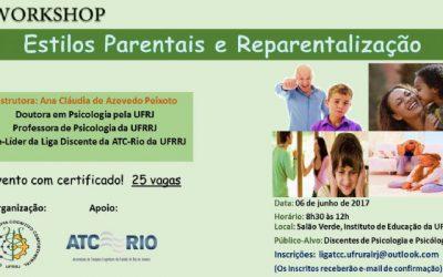 Workshop – Estilos Parentais