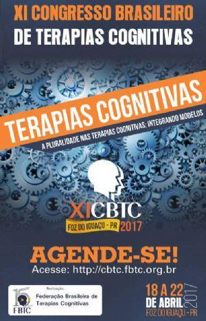 Congresso Brasileiro de Terapias Cognitivas – Inscrições Abertas