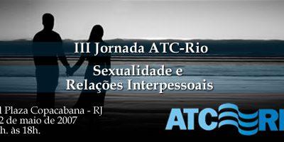 III Jornada da ATC-Rio