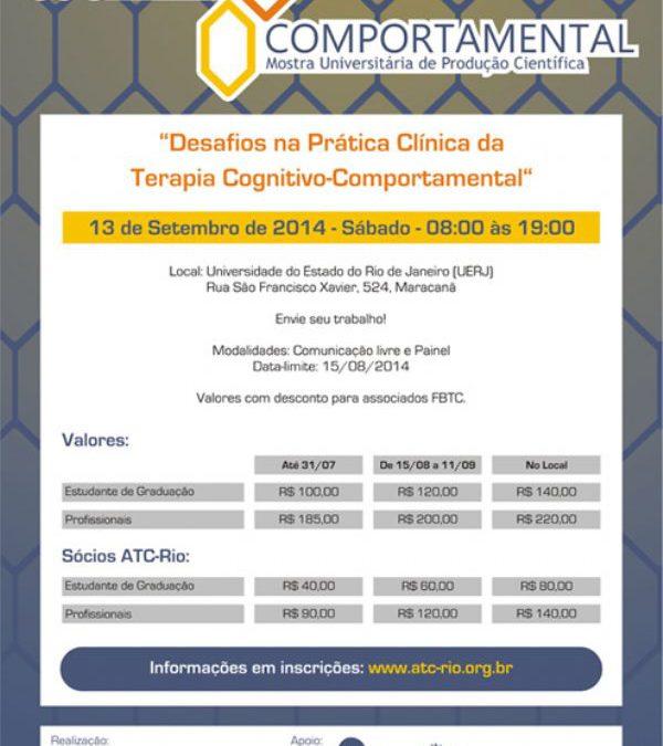 12ª. Mostra de Terapia Cognitivo-Comportamental – Confira as fotos e os resumos dos trabalhos