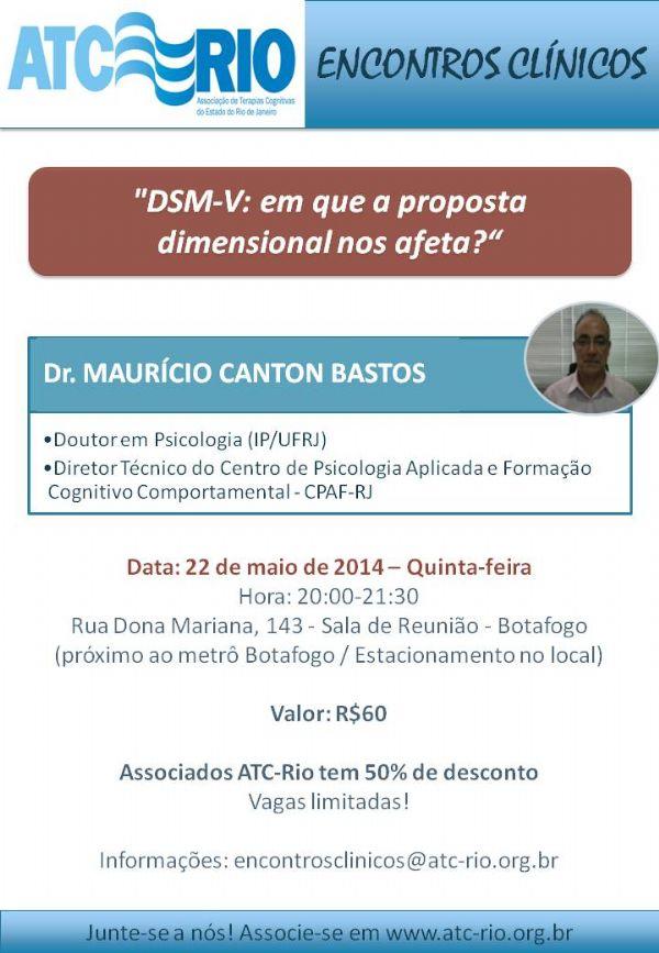 Ref: Baladas Clínicas: DSM-V