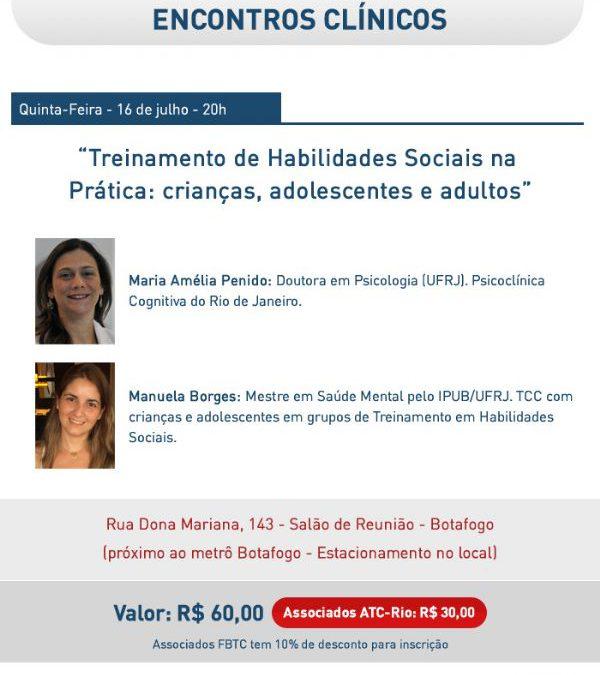Baladas Clínicas: Treinamento de Habilidades Sociais na Prática: crianças, adolescentes e adultos