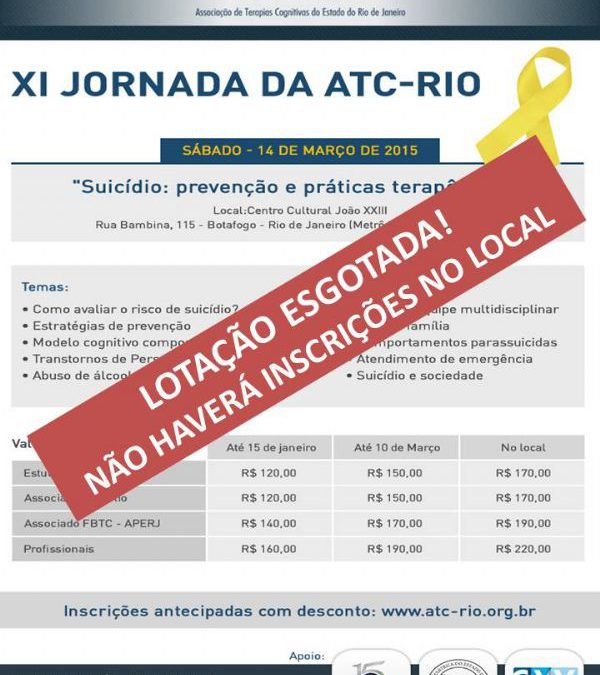 XI Jornada da ATC-Rio