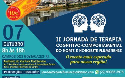II Jornada De Terapia Cognitivo-Comportamental Do Norte E Noroeste Fluminense