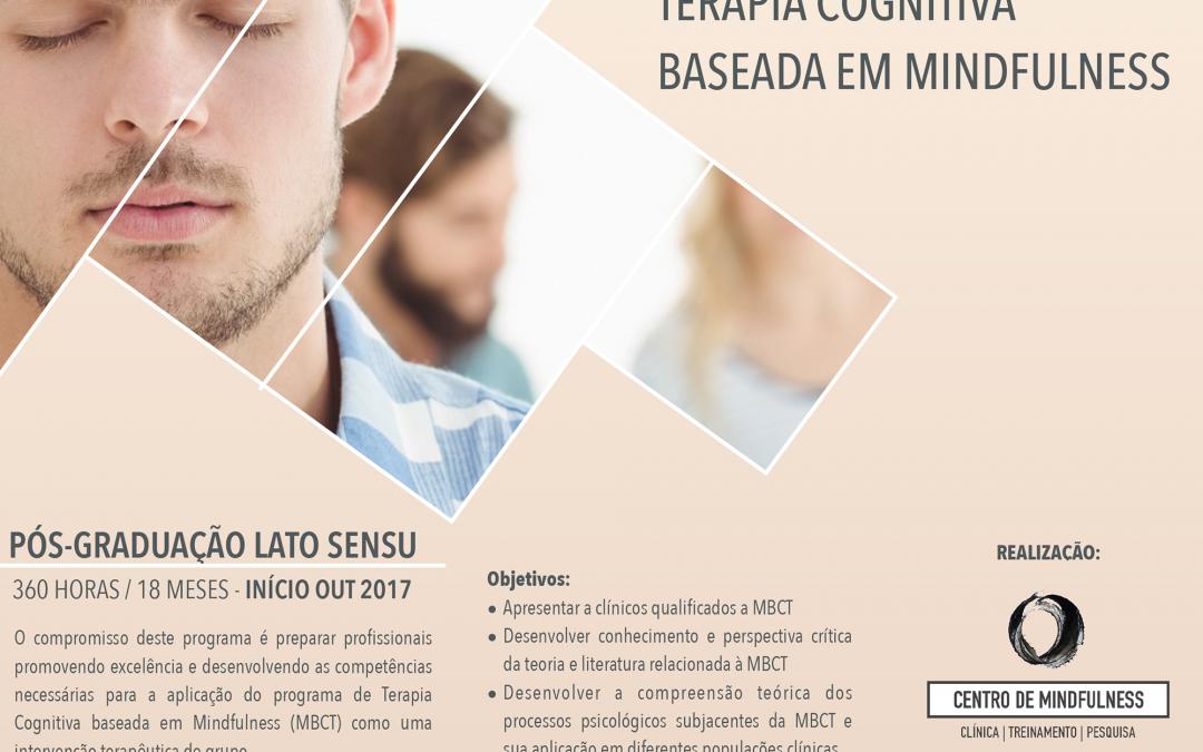 Pós-Graduação Lato-Sensu – Especialização em Terapia Cognitiva baseada em Mindfulness