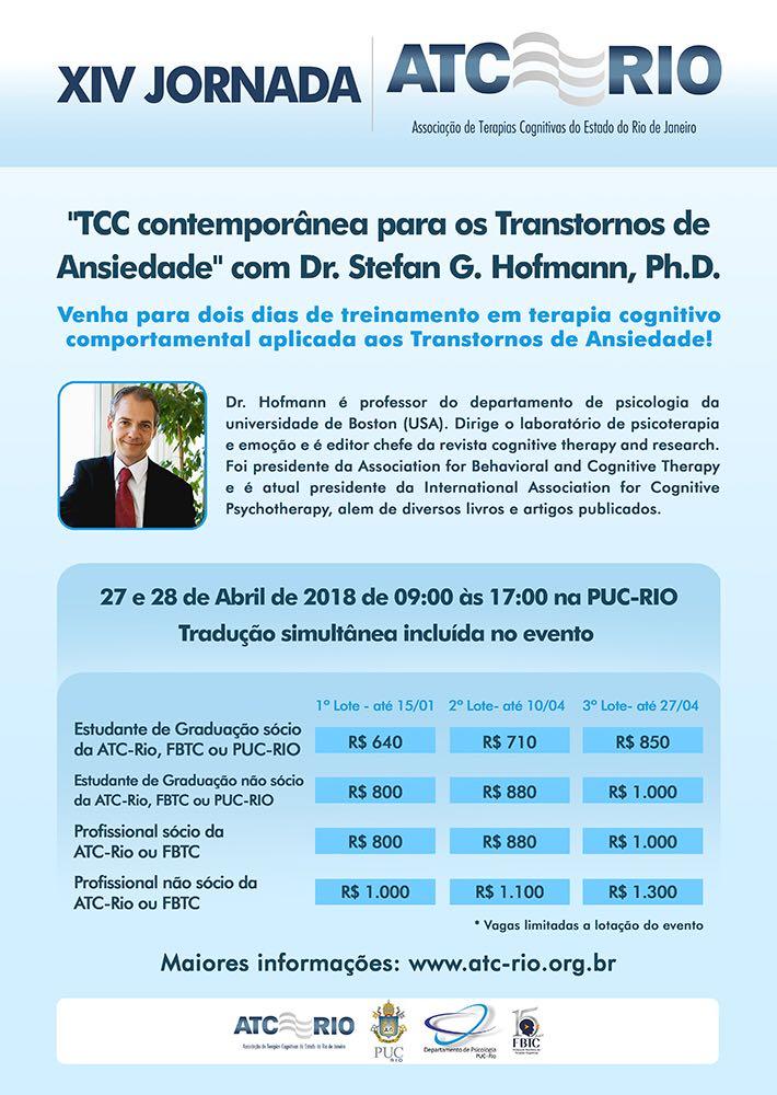 XIV Jornada de Terapias Cognitivas do Estado do Rio de Janeiro