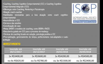 Curso de Formação em Coaching Cognitivo-comportamental