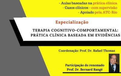 Especialização em TCC: prática clínica baseada em evidências