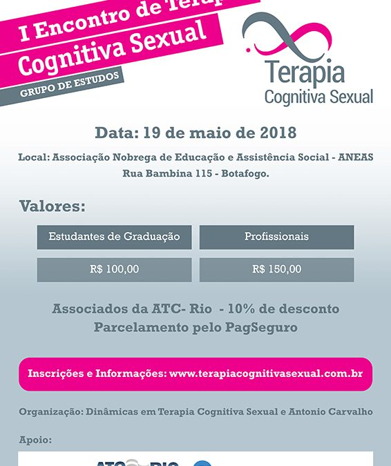 I Encontro de Terapia Cognitiva Sexual