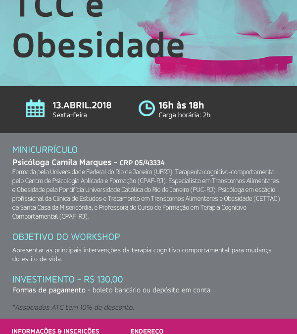 Workshop : TCC e Obesidade.