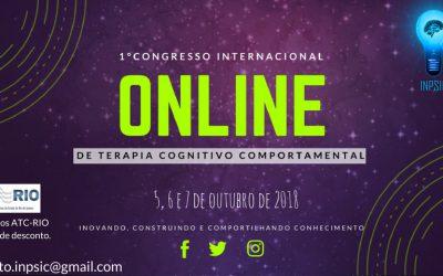 1° Congresso Internacional Online de Terapia Cognitivo Comportamental.
