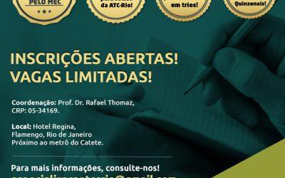 Especialização em TCC-Prática clínica baseada em evidências.