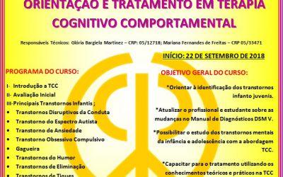 Transtornos da Infância e Adolescência,Orientação e Tratamento em Terapia Cognitivo Comportamental.