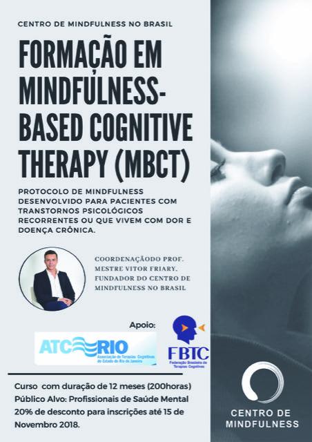 Formação em Mindfulness.