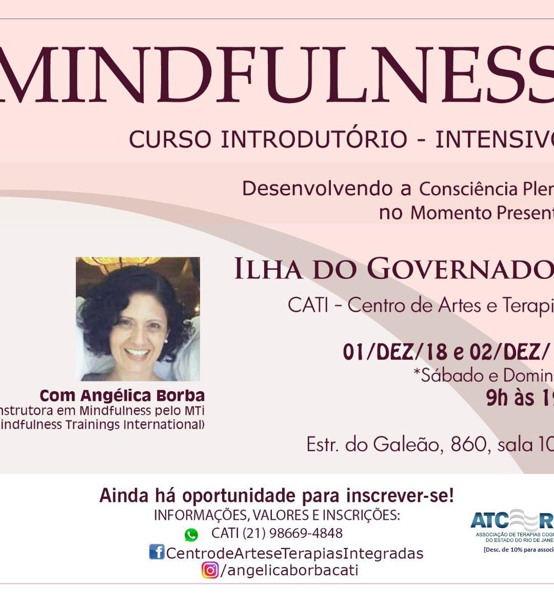 Mindfulness: Curso Introdutório | 01 e 02-Dez-18