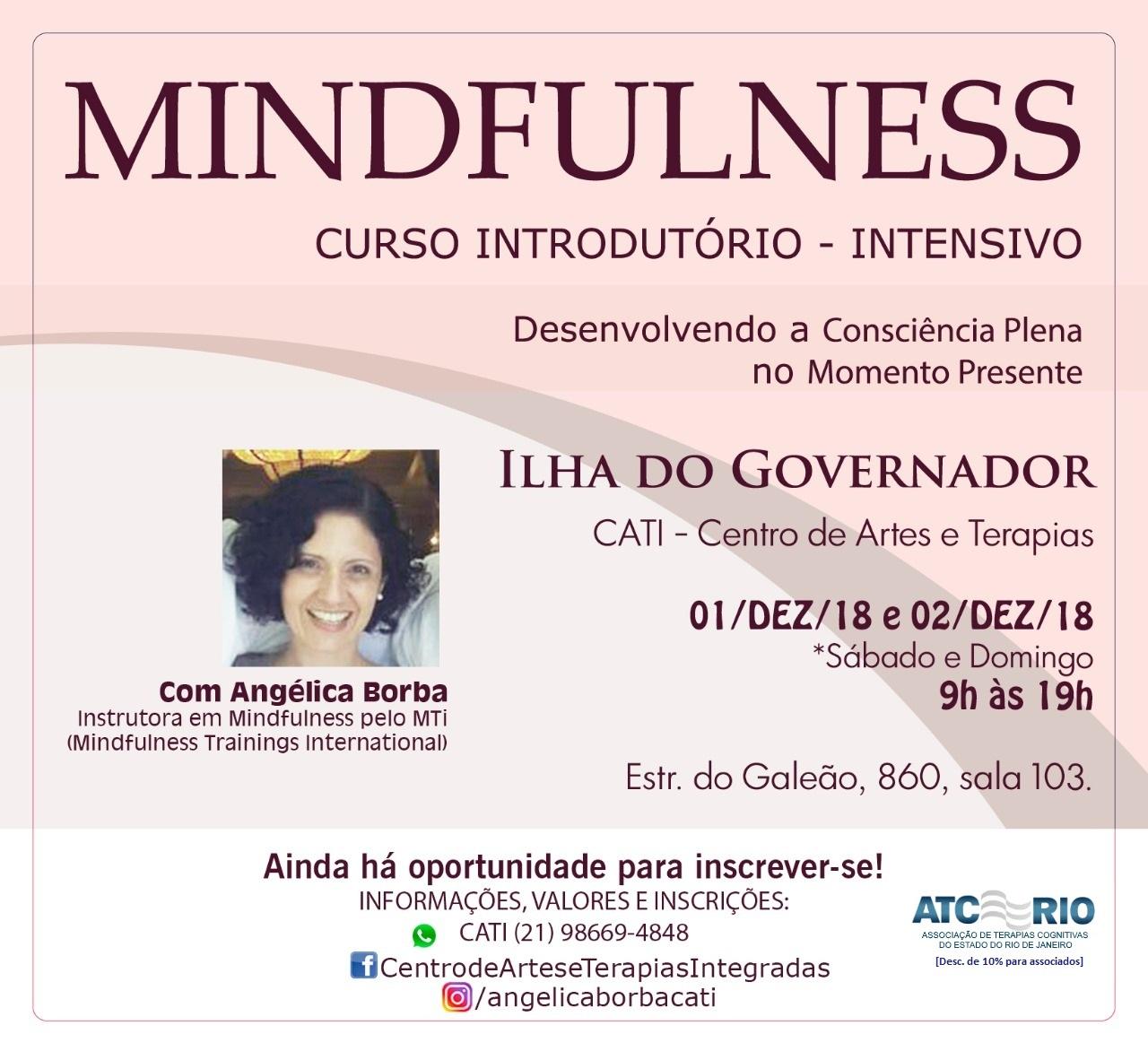 Mindfulness: Curso Introdutório   01 e 02-Dez-18