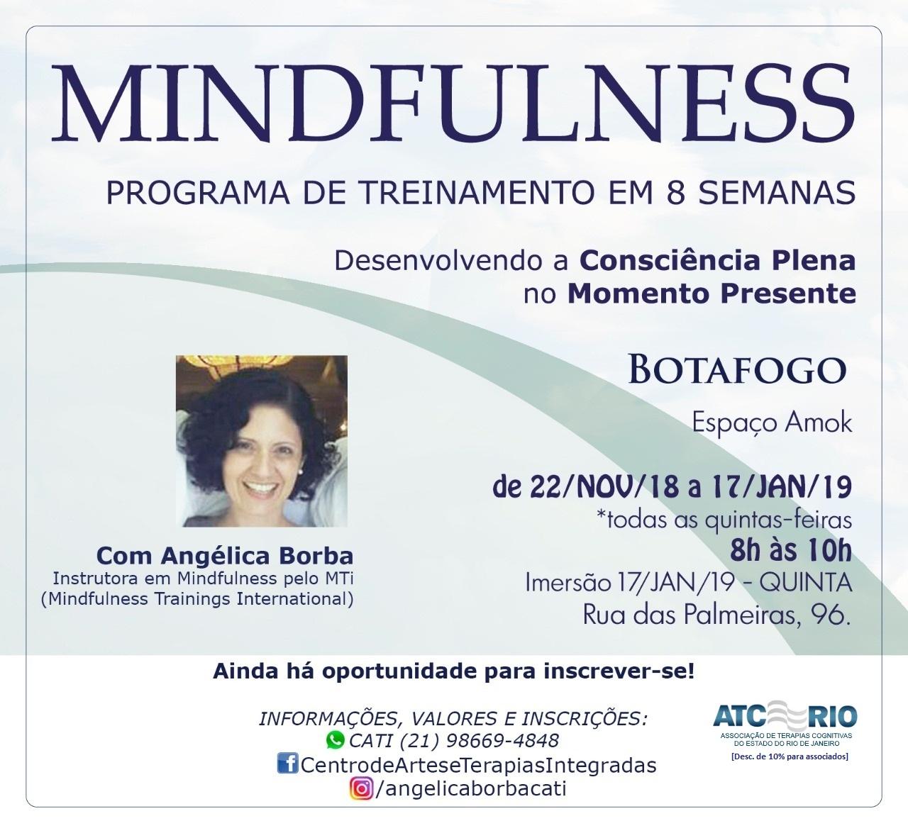 Mindfulness: Programa de Treinamento   8 semanas