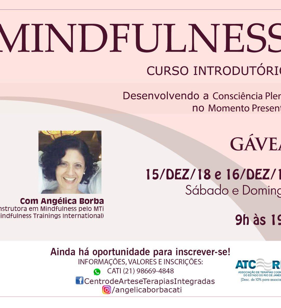 Mindfulness: Curso Introdutório | 15 e 16-Dez-18