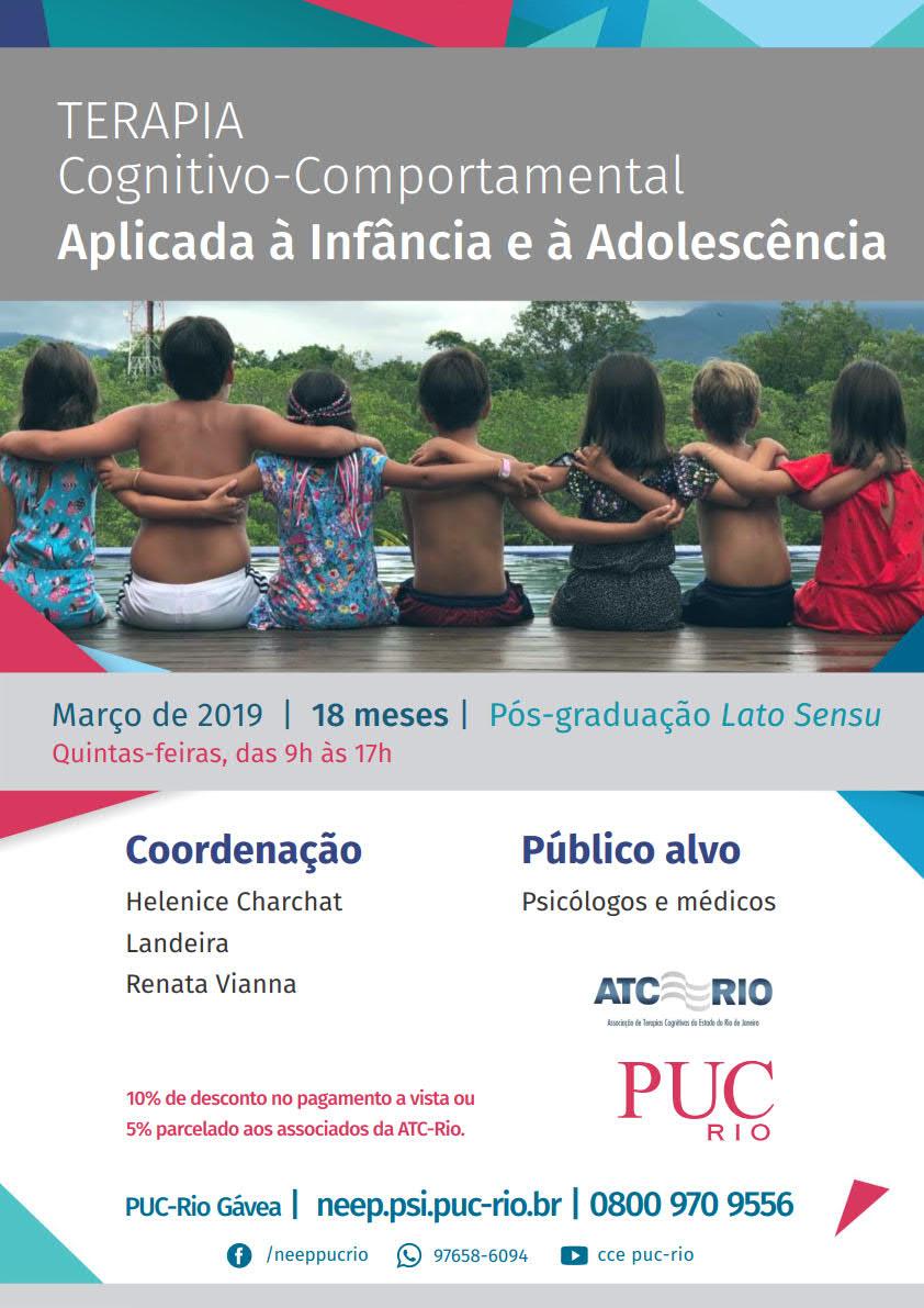 Pós em TCC: Aplicada à Infância e Adolescência