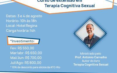 Curso de extensão em Terapia Cognitiva Sexual