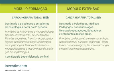 Formação e Extensão em Neuropsicologia