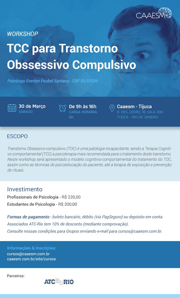 TCC para Transtorno Obssessivo Compulsivo