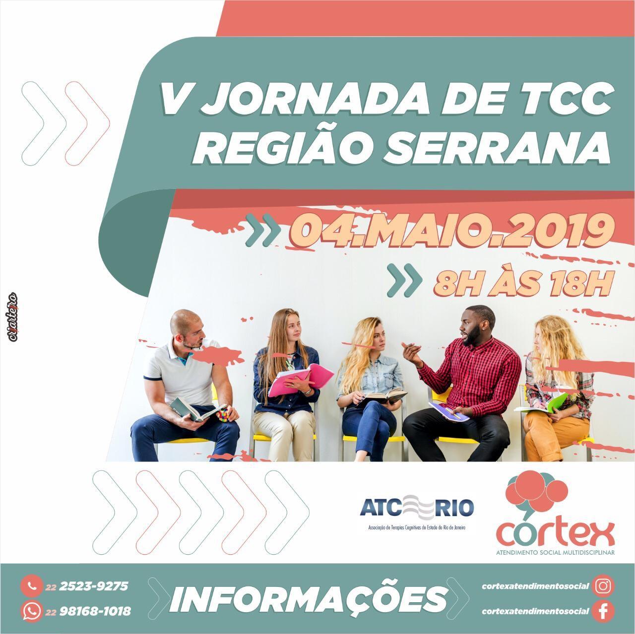V JORNADA DE TCC   Região Serrana