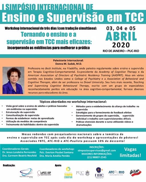I Simpósio Internacional de Ensino e Supervisão em TCC