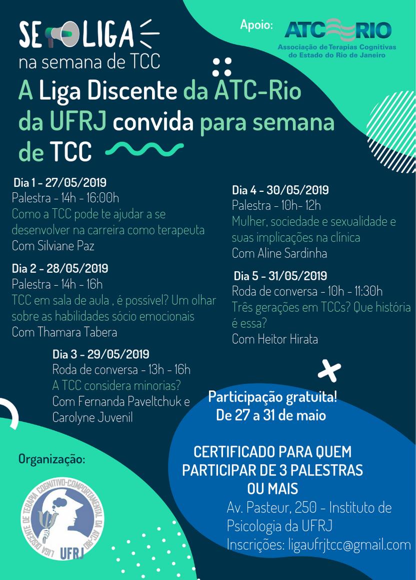 Semana de TCC da UFRJ
