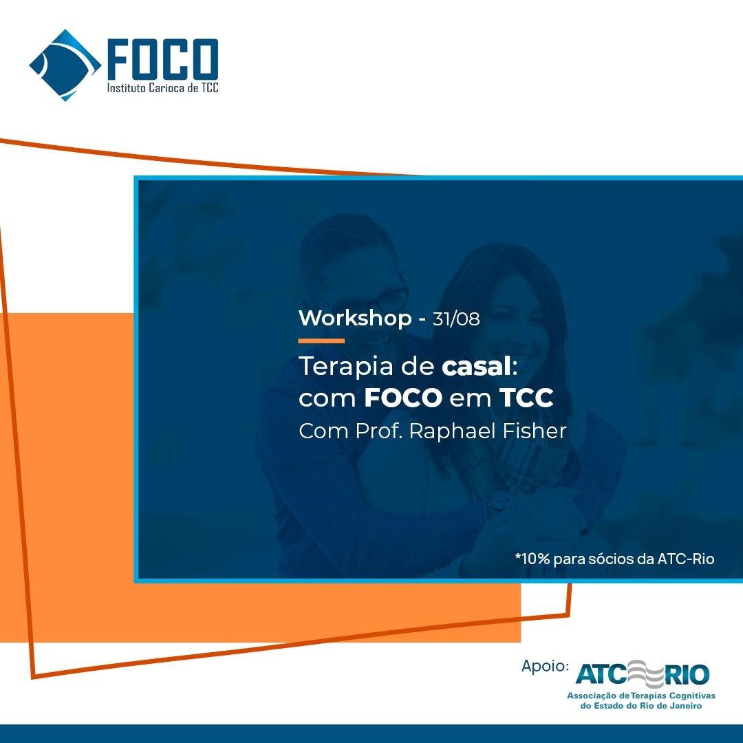 Workshop   Terapia de Casal com FOCO em TCC