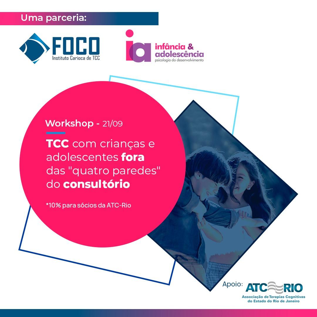 Workshop   TCC com Crianças e Adolescentes fora das quatro paredes do consultório
