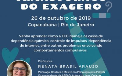 Workshop | TCC para os Transtornos do Exagero
