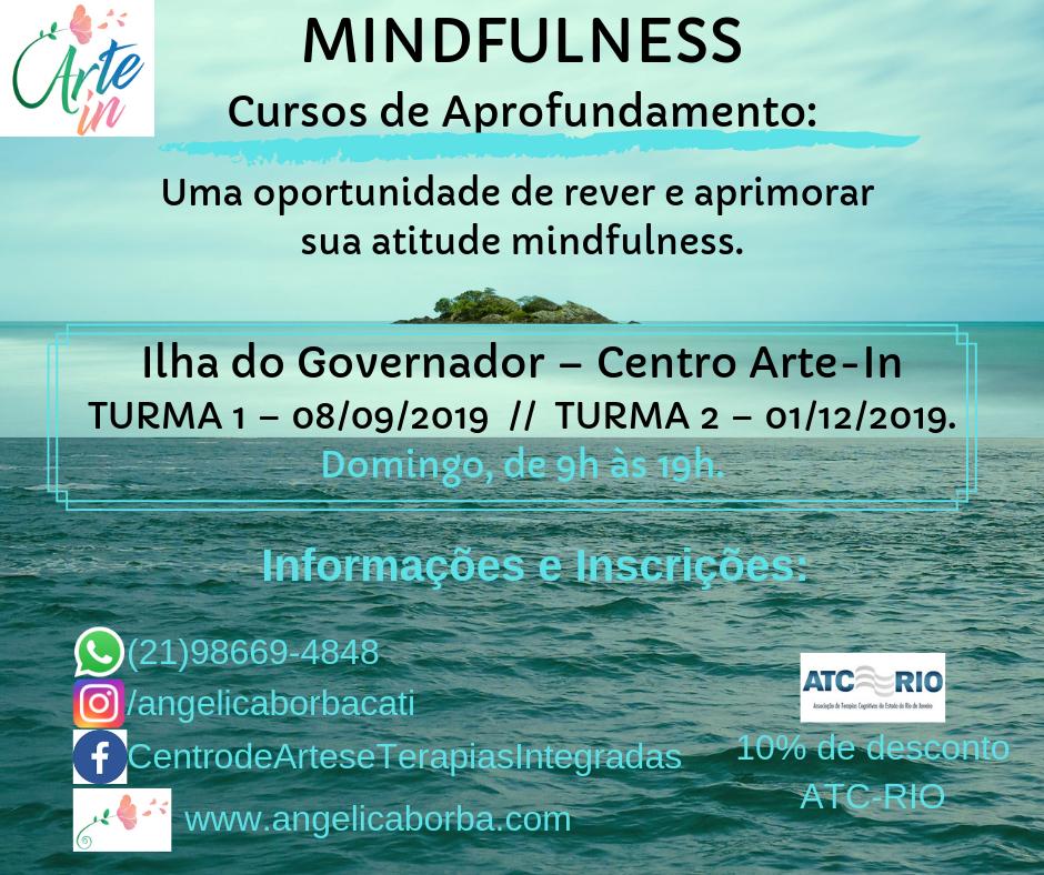 Treinamento Mindfulness | Curso Aprofundamento Ilha do Governador