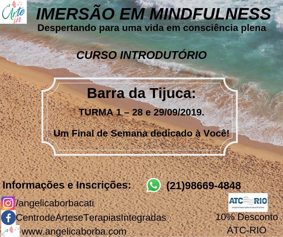 Treinamento Mindfulness | Curso Introdutório Barra da Tijuca
