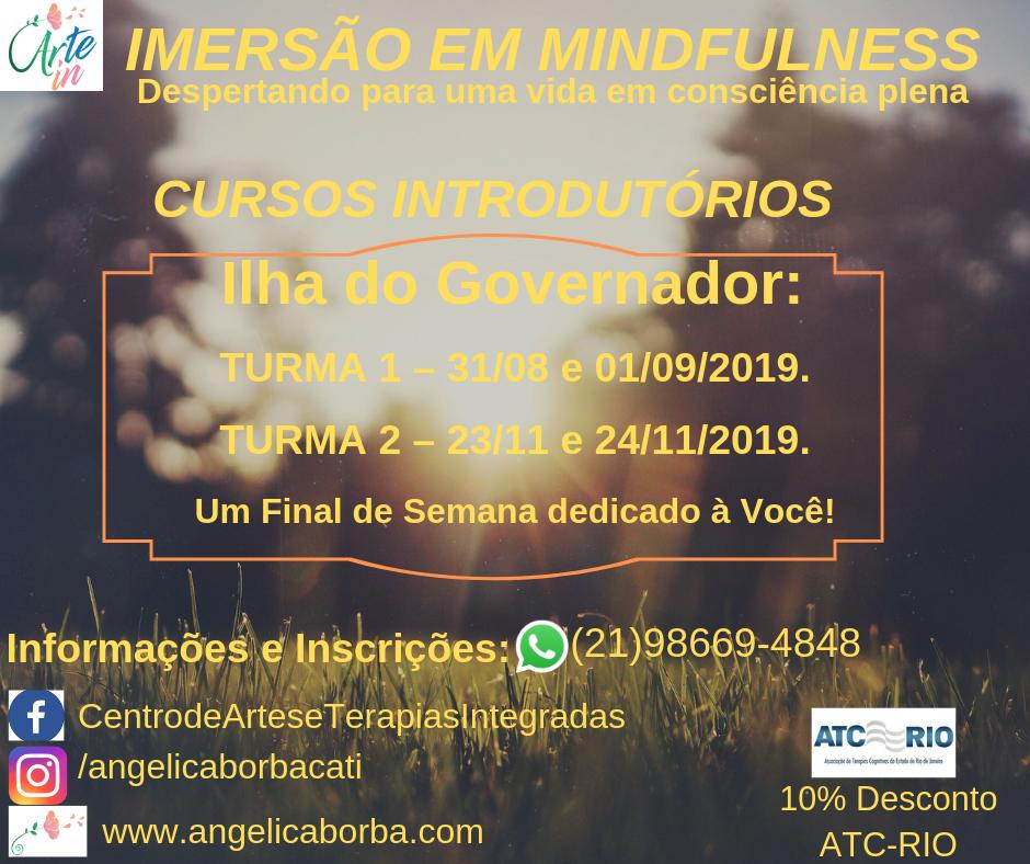 Treinamento Mindfulness | Curso Introdutório Ilha do Governador