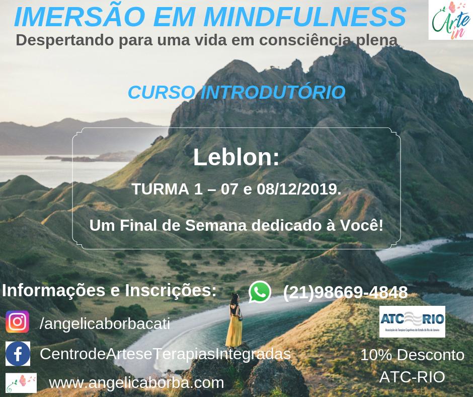 Treinamento Mindfulness | Curso Introdutório Leblon