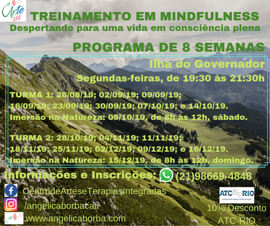 Treinamento Mindfulness | Programa de 8 semanas Ilha do Governador