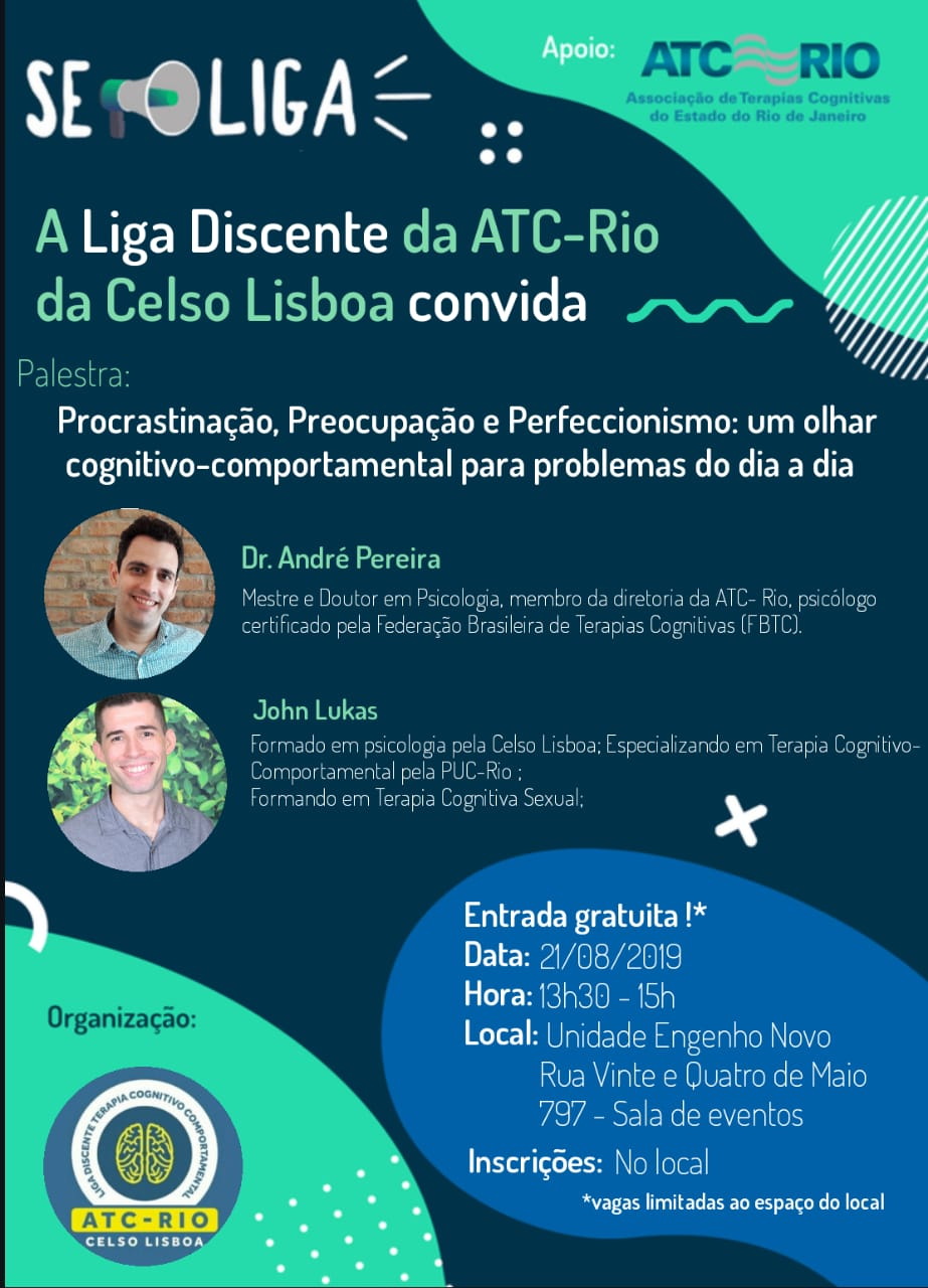 Liga Discente da ATC-Rio da Celso Lisboa