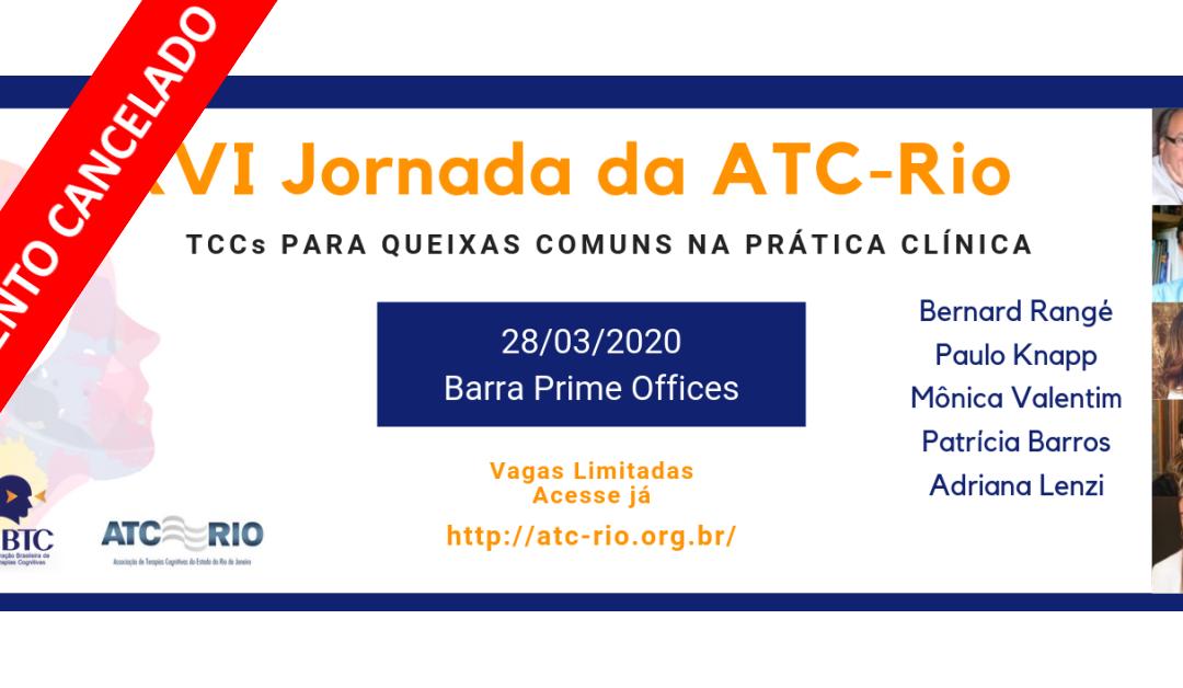 XVI Jornada ATC-Rio 2020 – Evento