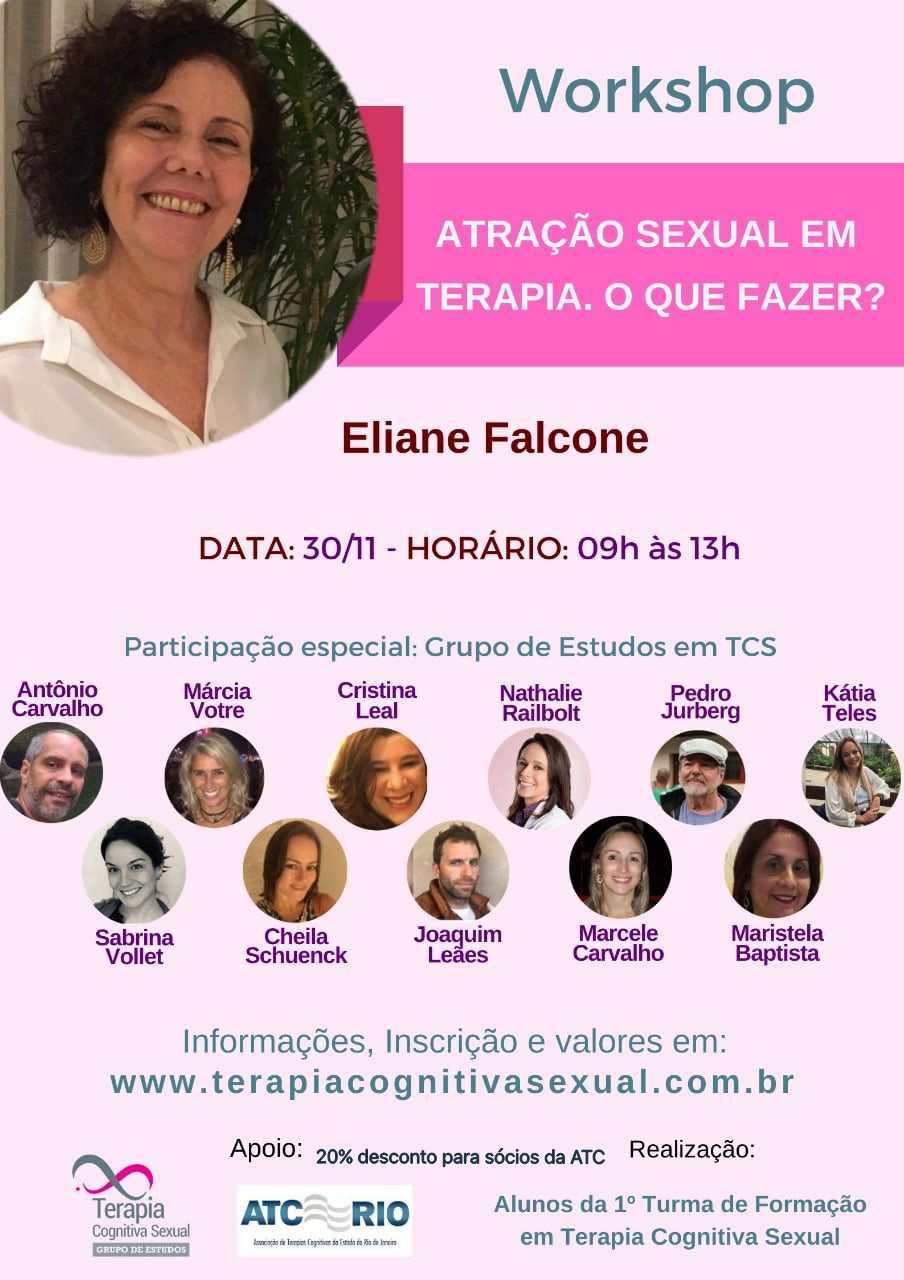 Workshop | Atração sexual em terapia. O que fazer?