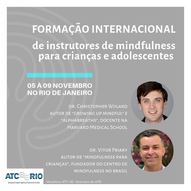 Formação Internacional de Instrutores de Mindfulness para Crianças e Adolescentes