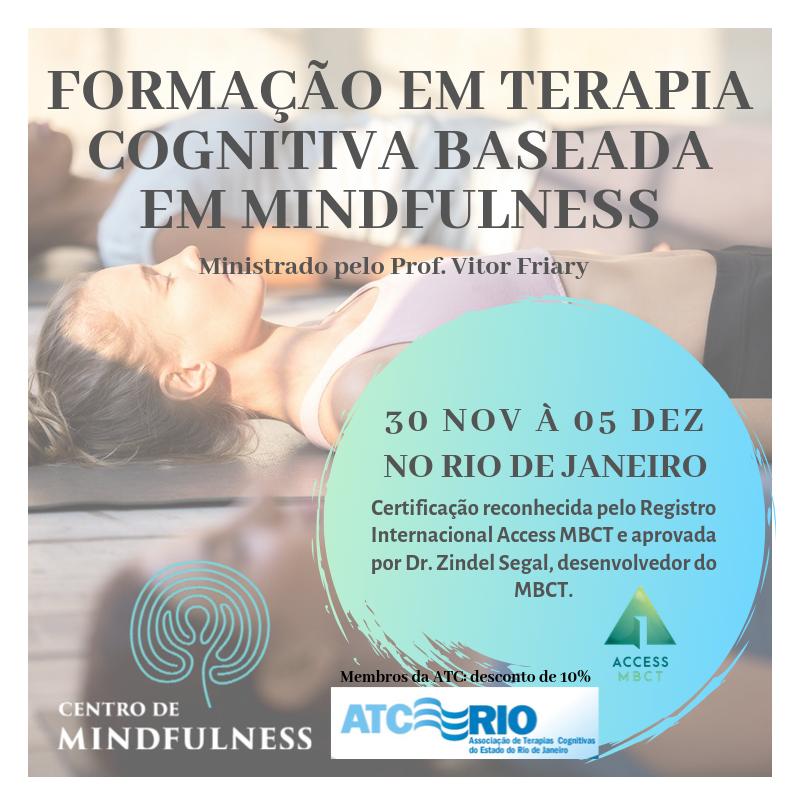 Formação em Terapia Cognitiva Baseada em Mindfulness