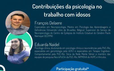 SE LIGA! | Contribuições da psicologia no trabalho com idosos