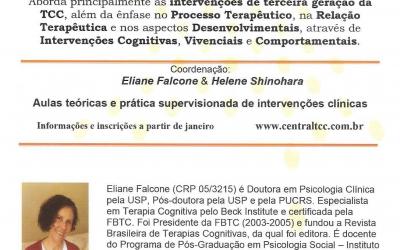 Curso de formação em Terapia Cognitiva