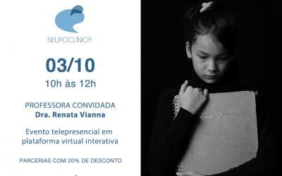 Webinar Luto na infância e adolescência: abordagem da TCC (Terapia Cognitivo-Comportamental)