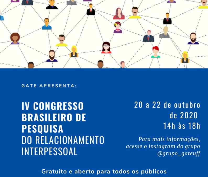IV Congresso Brasileiro de Pesquisa do Relacionamento Interpessoal
